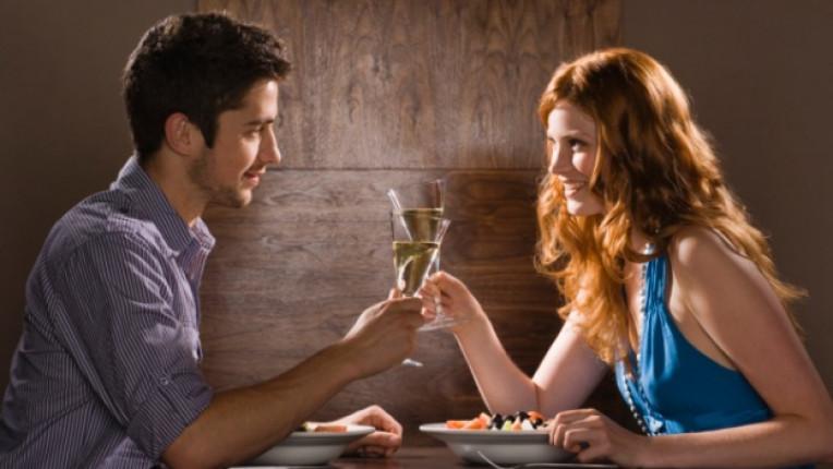 вечеря двойка романтика
