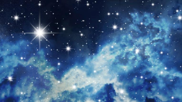небе звезди нощ магия