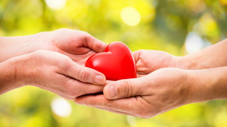 доброта ръце щастие