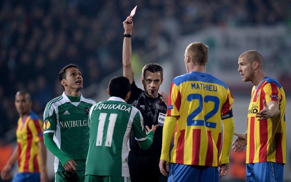 Съдия номер 1 на Франция ще свири дербито Левски – Славия