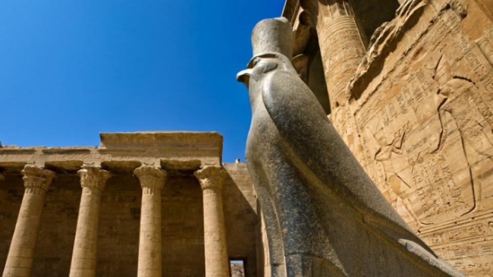 Древният храм на Бога сокол