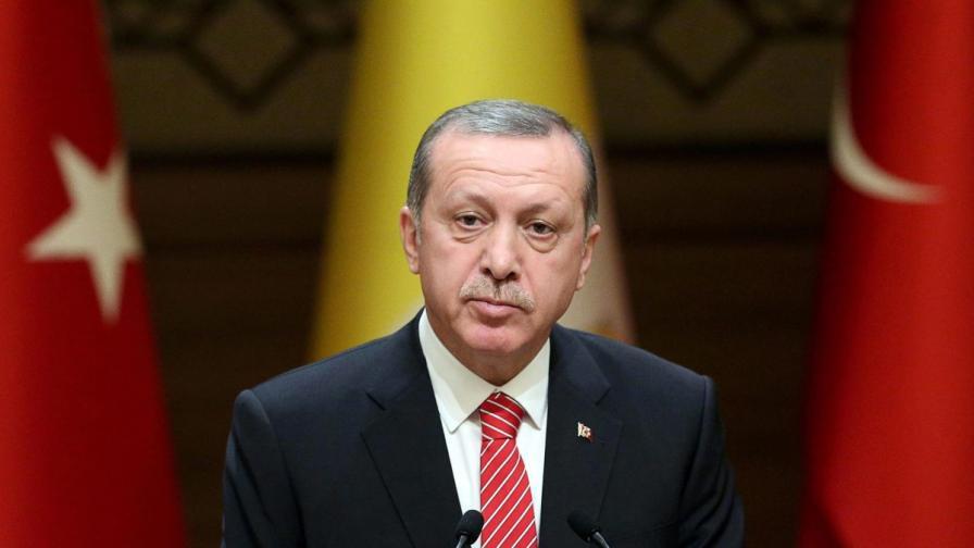 """Ердоган публикува първия си """"туит"""""""