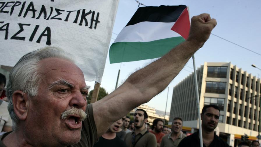 Стрелба по посолството на Израел в Гърция