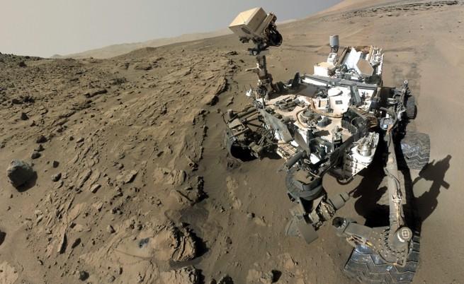 """Откри ли """"Кюриосити""""  условия за появата на живот на Марс?"""