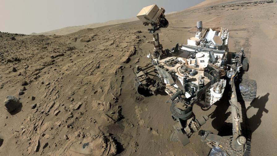 """Откри ли """"Кюриосити""""  условия за живот на Марс?"""