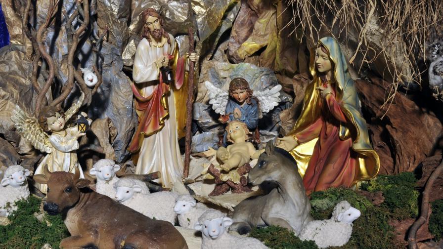 Сцената на Рождество Христово