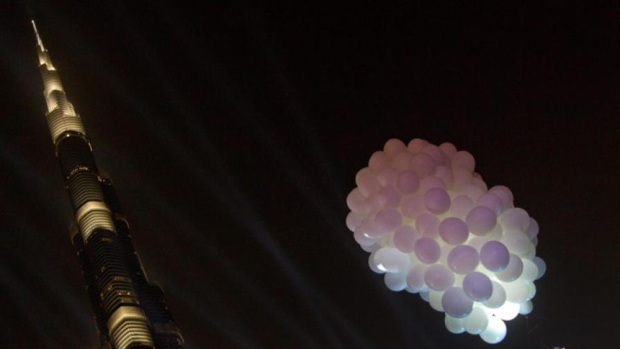 Дубай иска да постави рекорд  за осветление