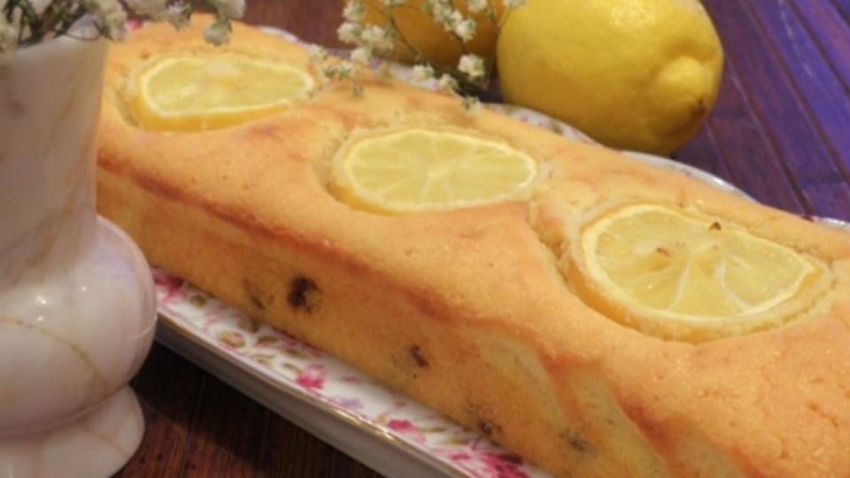 Ароматен лимонов кекс