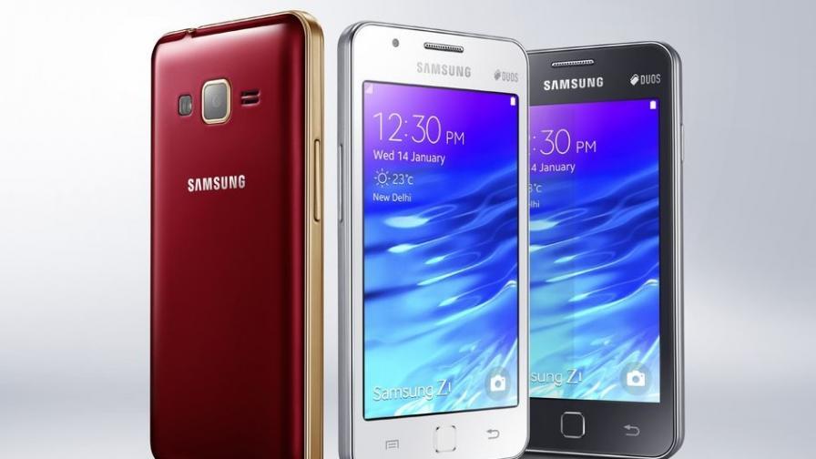 """""""Самсунг"""" показа смартфона със собствената си ОС"""