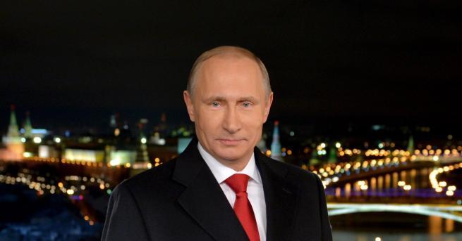"""Президентът Владимир Путин апелира към """"любовта към родината"""" на руснаците,"""