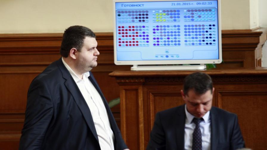 "Когато Пеевски и Цветанов гласуват ""за"""