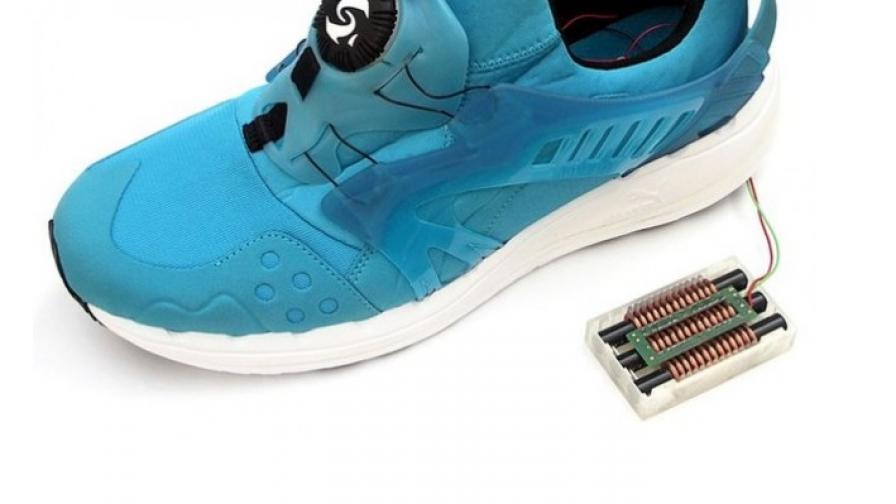 """""""Умни"""" обувки може да зареждат батерии"""