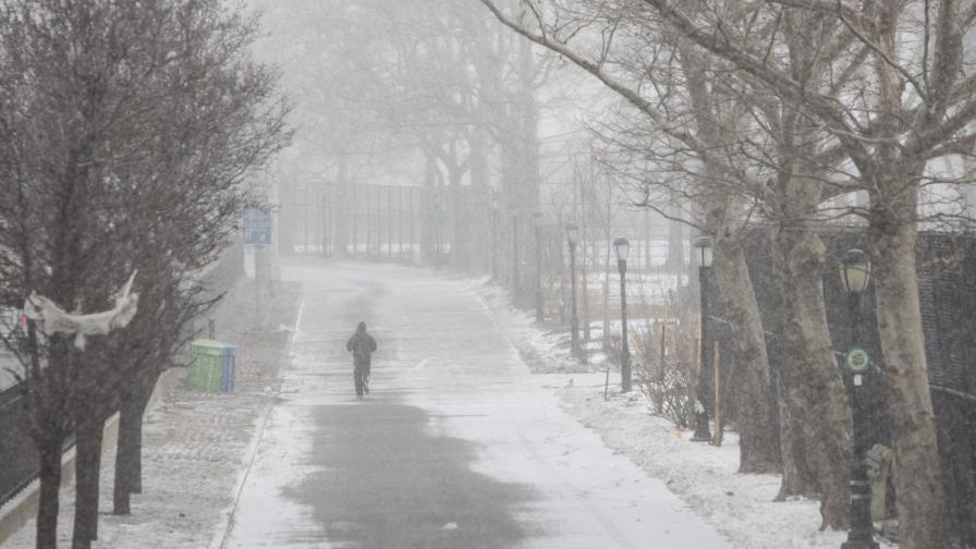 Снежни бури сковаха щатите Северна и Южна Дакота