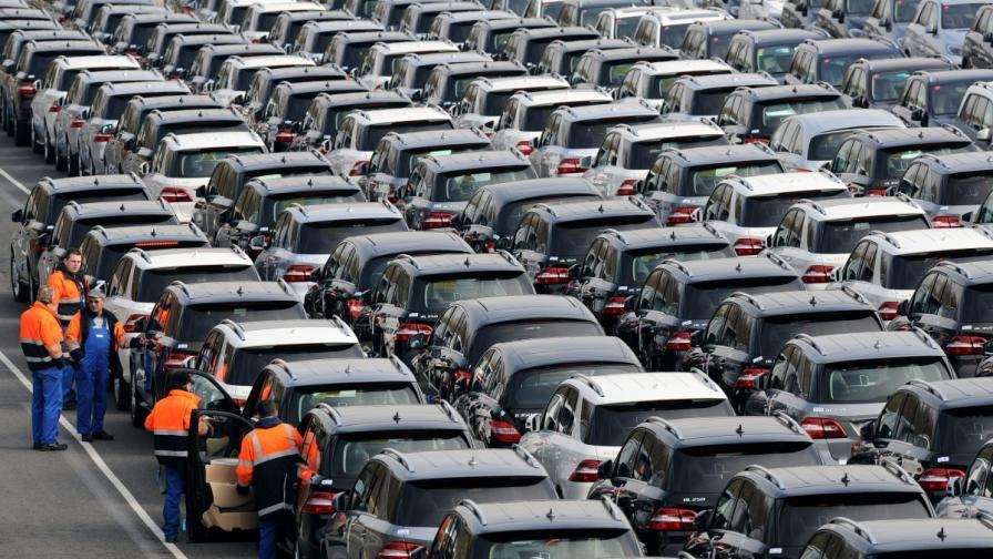 Автомобилите у нас: 400 коли на 1000 души