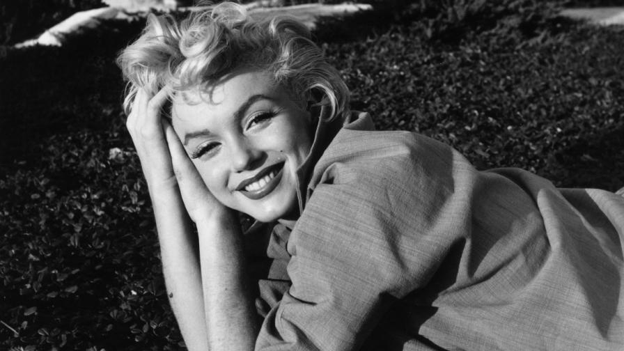 Снимка на Мерилин Монро от 1954 г.