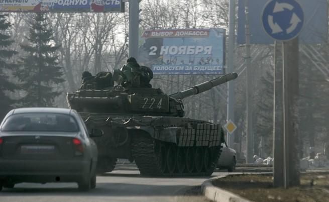 Подписаха споразумение за изтегляне на тежките оръжия от Източна Украйна
