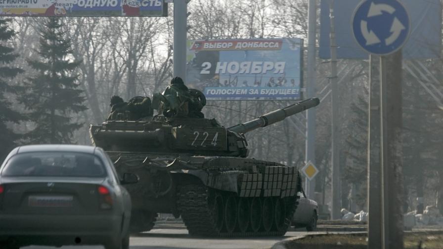 ЛНР: Изтегляме тежкото въоръжение, чакаме и Киев да го направи