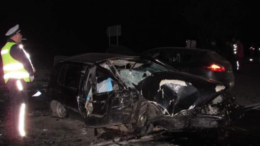 Мъж загина в тежка катастрофа на изхода на Русе