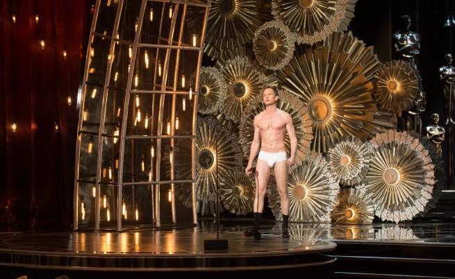 "Нийл Патрик Харис по бельо на ""Оскар""-ите"