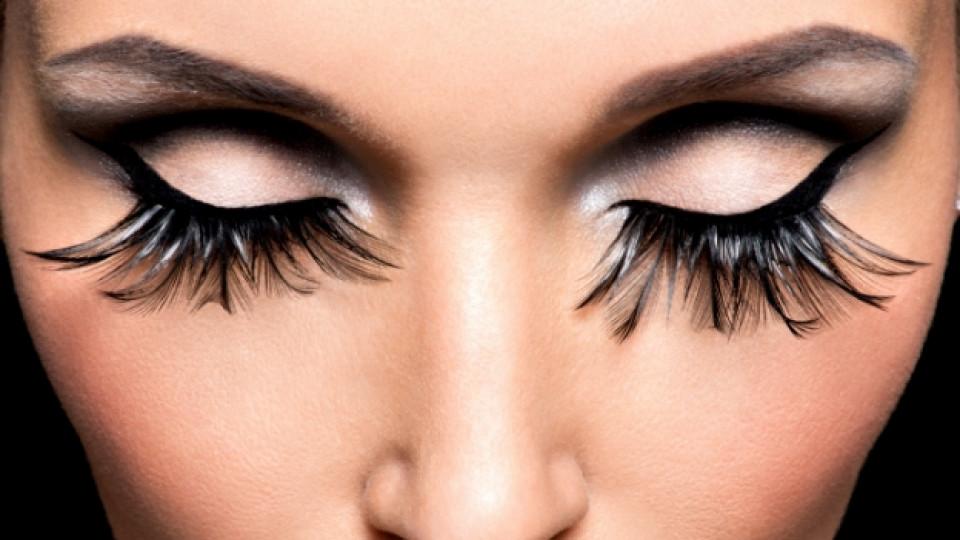 Изкуствените мигли са вредни за очите