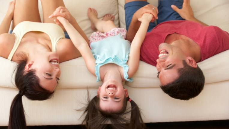 родители деца семейство щастие
