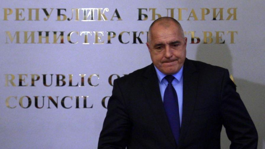 Борисов за оставката на Вучков: Ченгеджийски номера