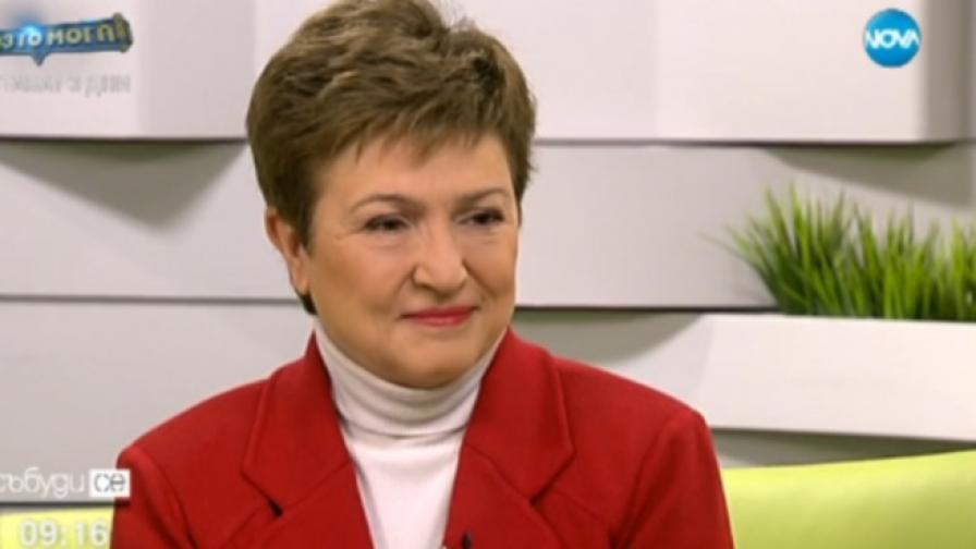 Кристалина Георгиева: България е по-готова за бежанците от другите държави