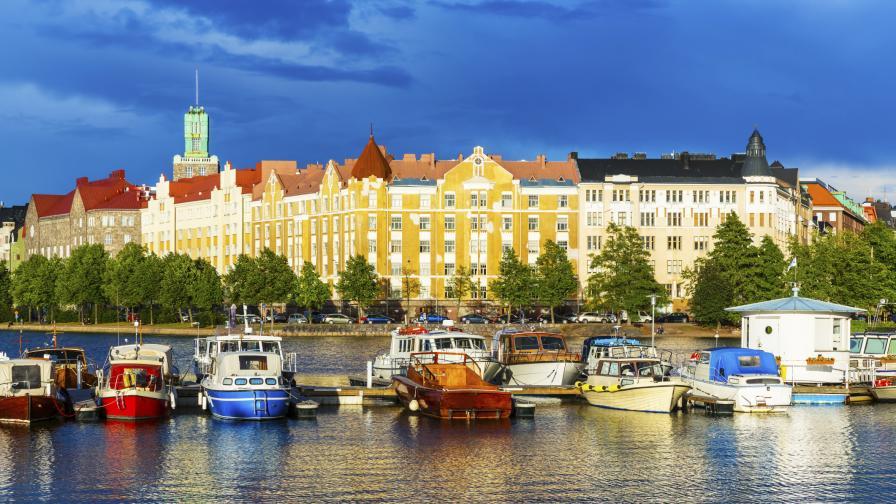 Хелзинки - столицата на Финландия