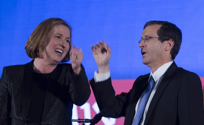 Ципи Ливни и Исак Херцог