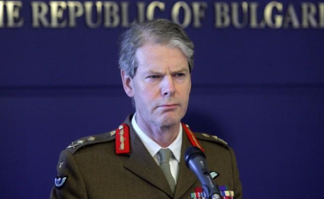 Ген. Брадшоу: В случай на криза НАТО изпраща до дни силите си в България