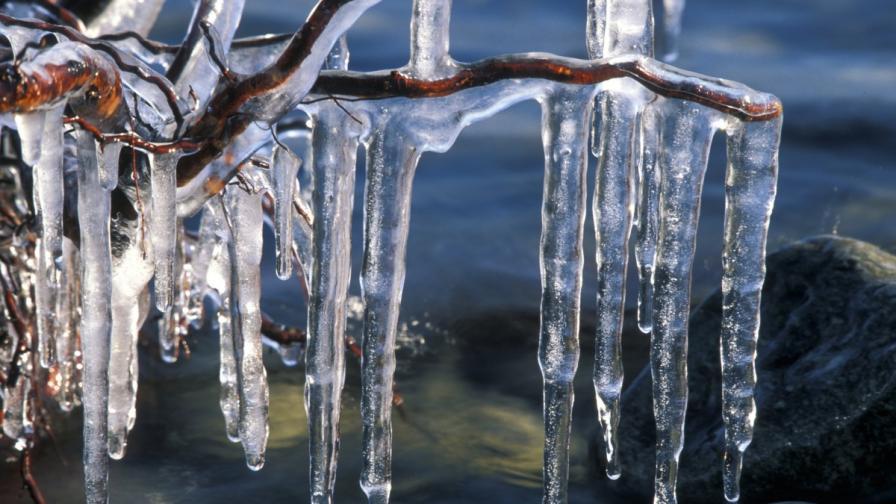 От какво зависи формата на ледената висулка