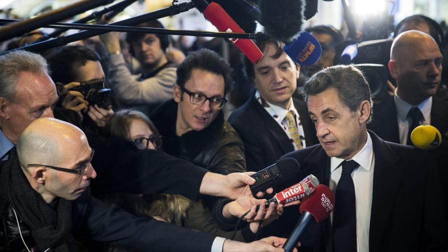 Саркози: Смяната във властта е в ход, нищо няма да я спре