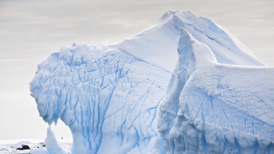 Топенето на антарктическия леден шелф се ускорява