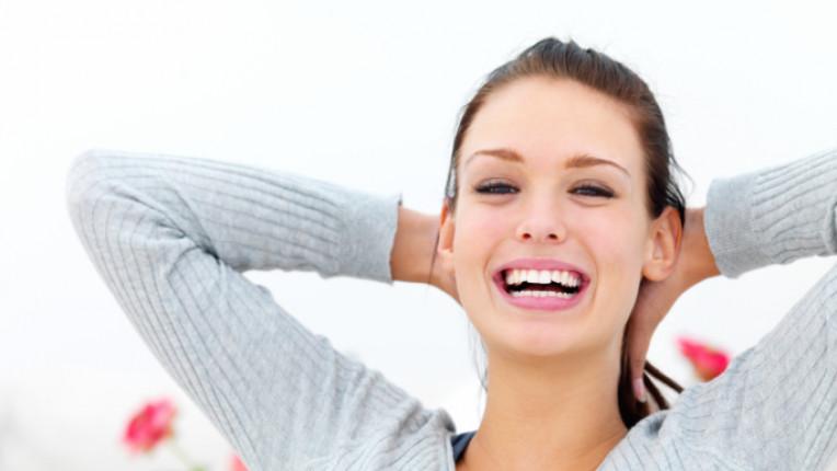 жена усмивка спокойствие радост