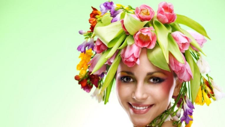 жена цветя цвете цветница