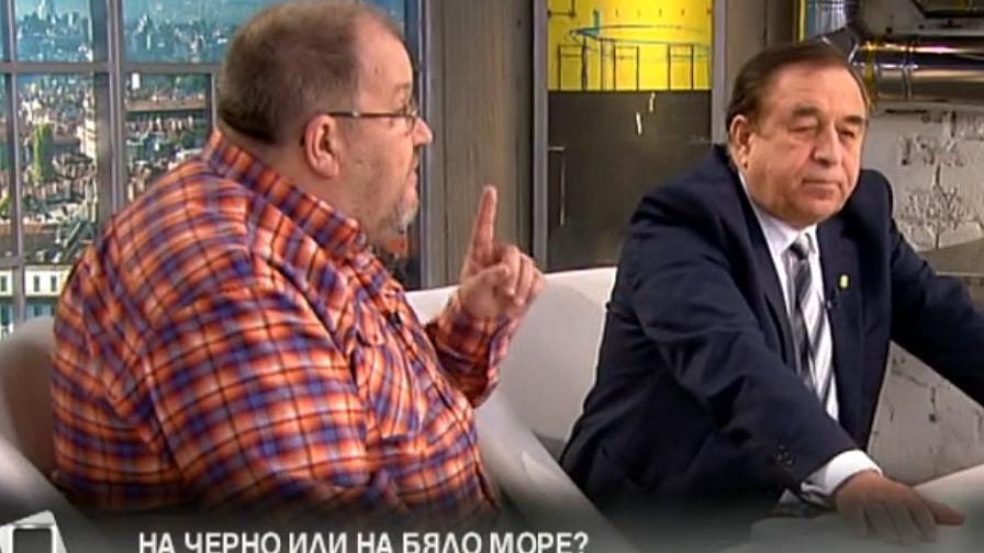 Момчил Инджов и Благой Рагин