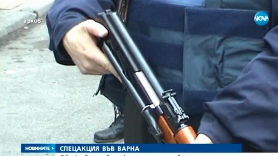 При спецакция сложиха КПП на Аспаруховия мост във Варна