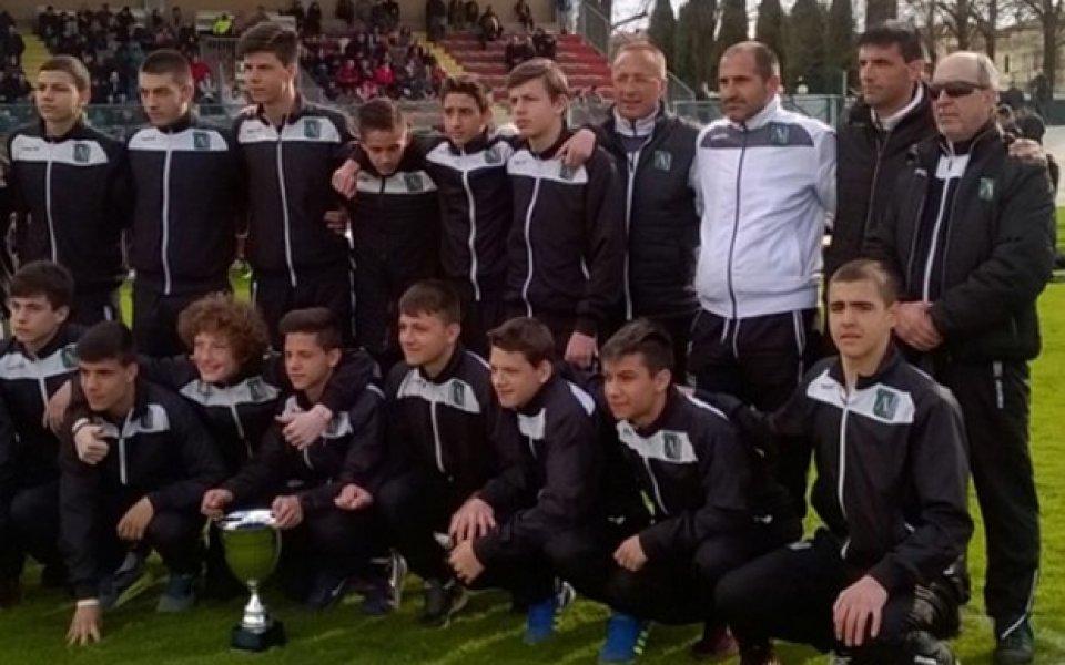 Треньорът на децата на Лудогорец: Милан нямаше положение срещу нас