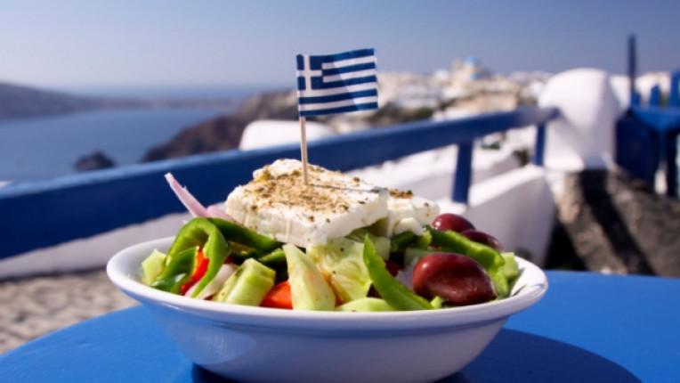 Гърция салата знаме