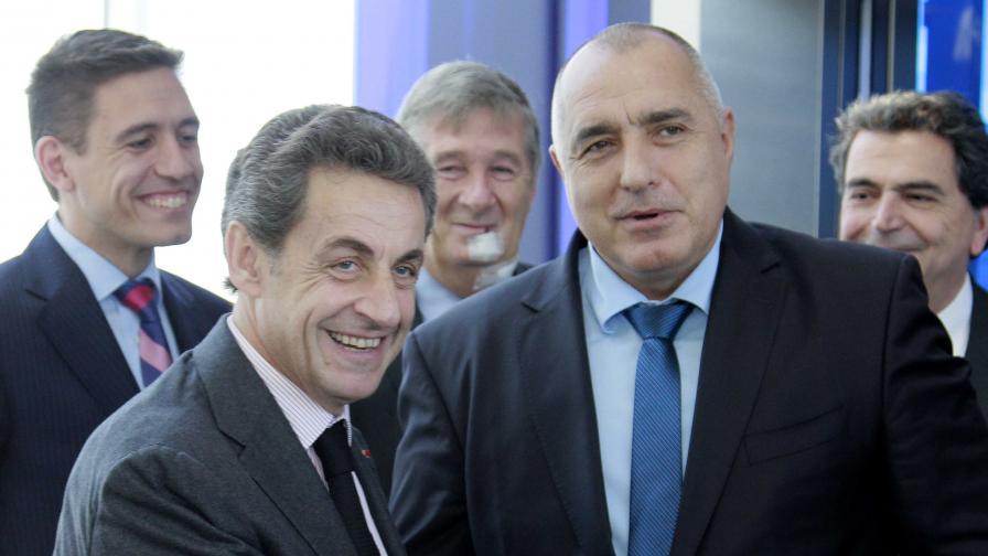 Никола Саркози и Бойко Борисов