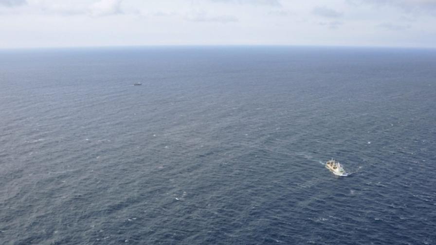 Наши военни помогнаха на бедстващ турски кораб край Варна