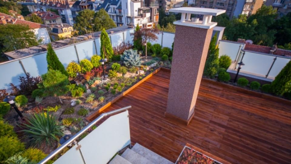 Как да превърнем покрива в градина