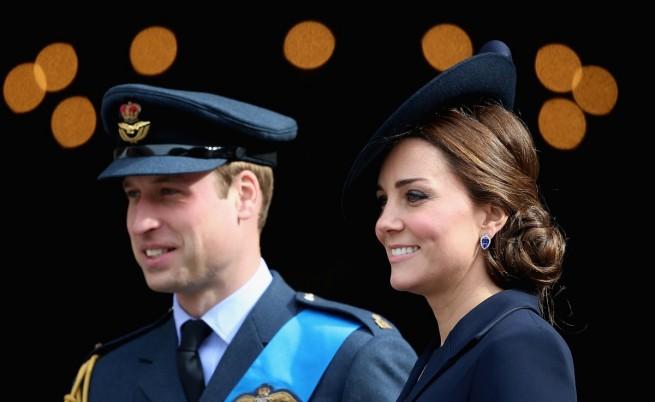 Уилям и Кейт честват годишнина от сватба, докато чакат второто си дете