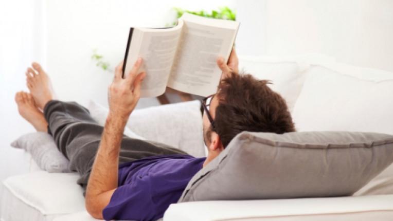 книга мъж почивка