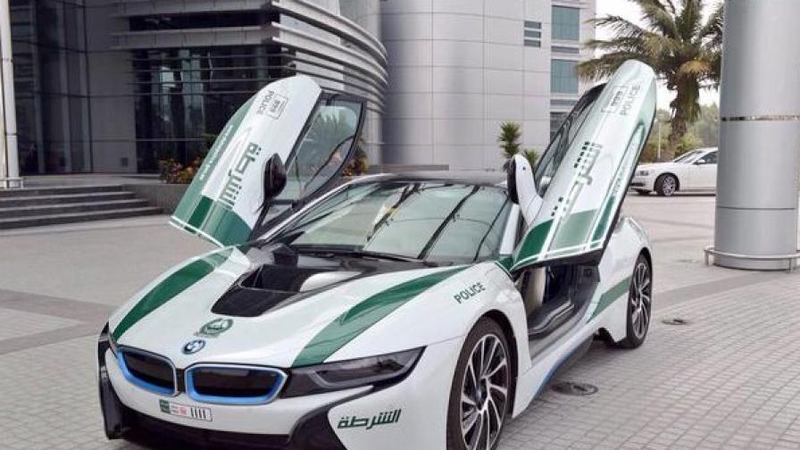 Полицията в Дубай се сдоби с екологичен суперавтомобил