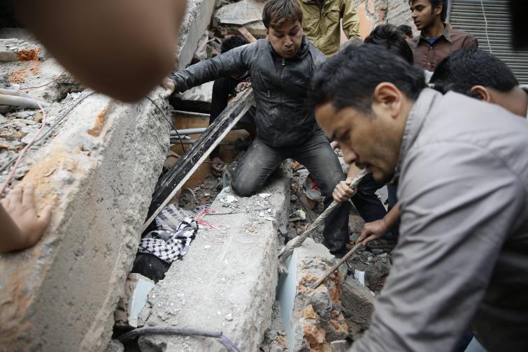 Непал земетресение