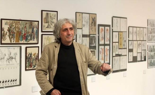 Ретроспективна изложба на вълшебния Ясен Гюзелев в София