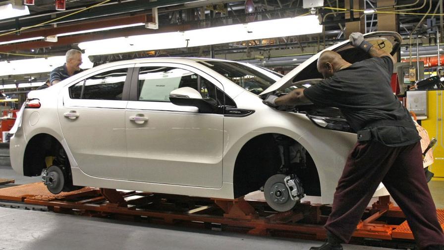 """""""Дженерал мотърс"""" обяви половин милиард произведени коли"""