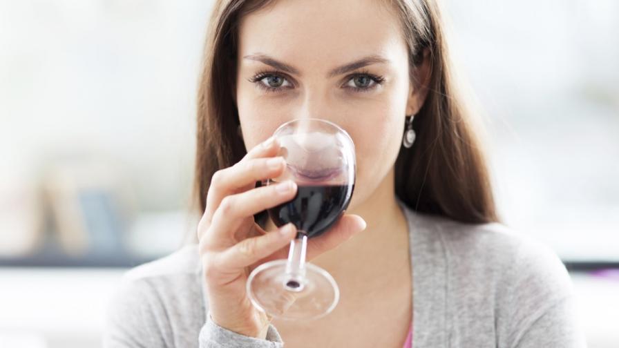Чаша червено вино дневно е полезна за диабетиците