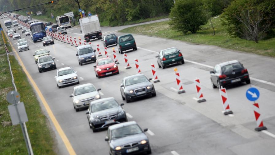 """От 1 юни започва нов ремонт на """"Цариградско шосе"""""""